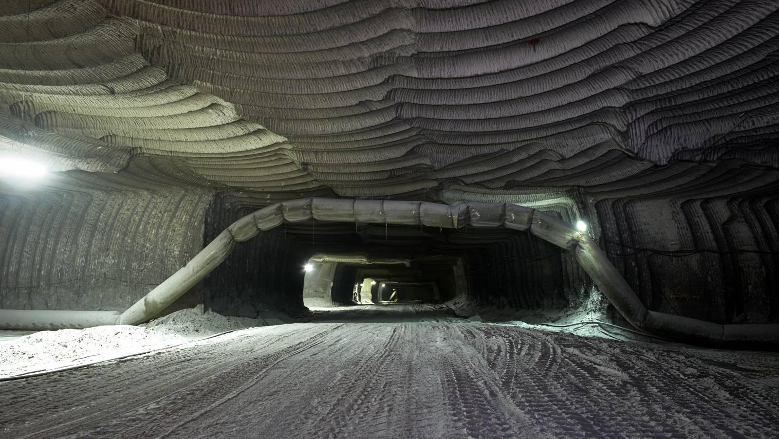 oltre 70 chilometri di gallerie