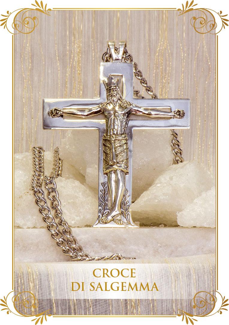 Croce di Salgemma  - Realizzazione di Orietta Rossi e Giovanni Serra