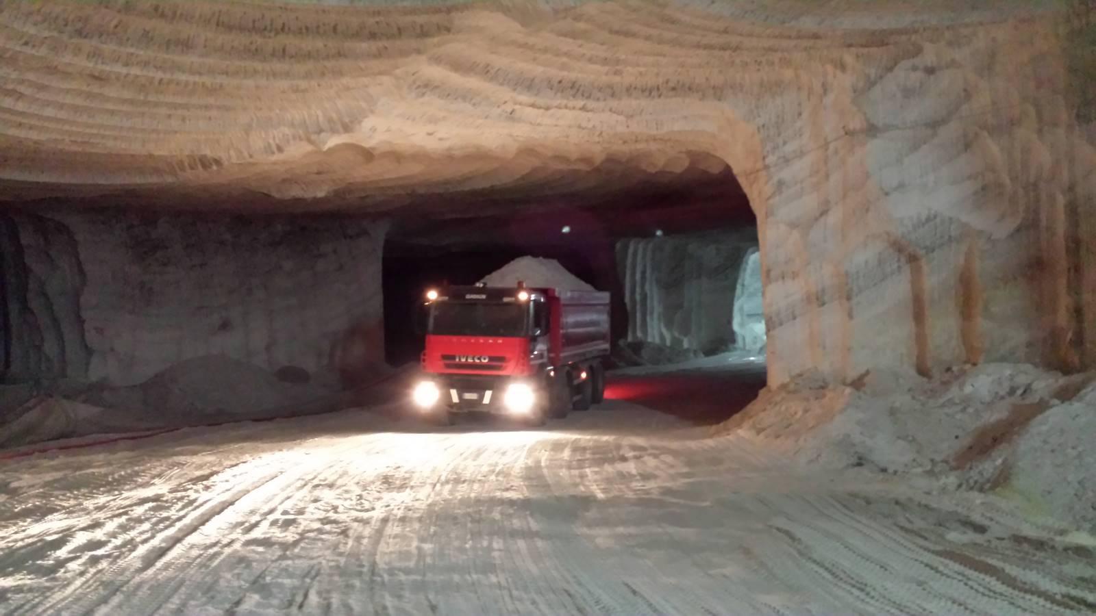 gallerie e rampe percorribili dai mezzi operativi