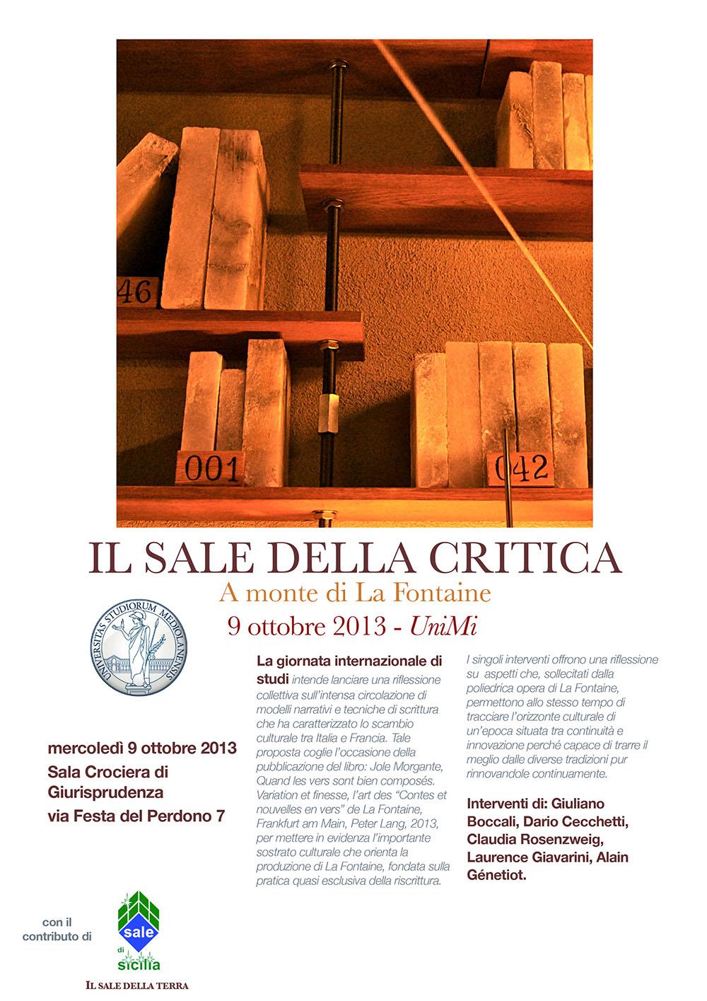 Poster Sale della critica [2]