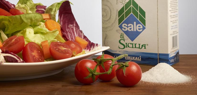 Sale di Sicilia a tavola