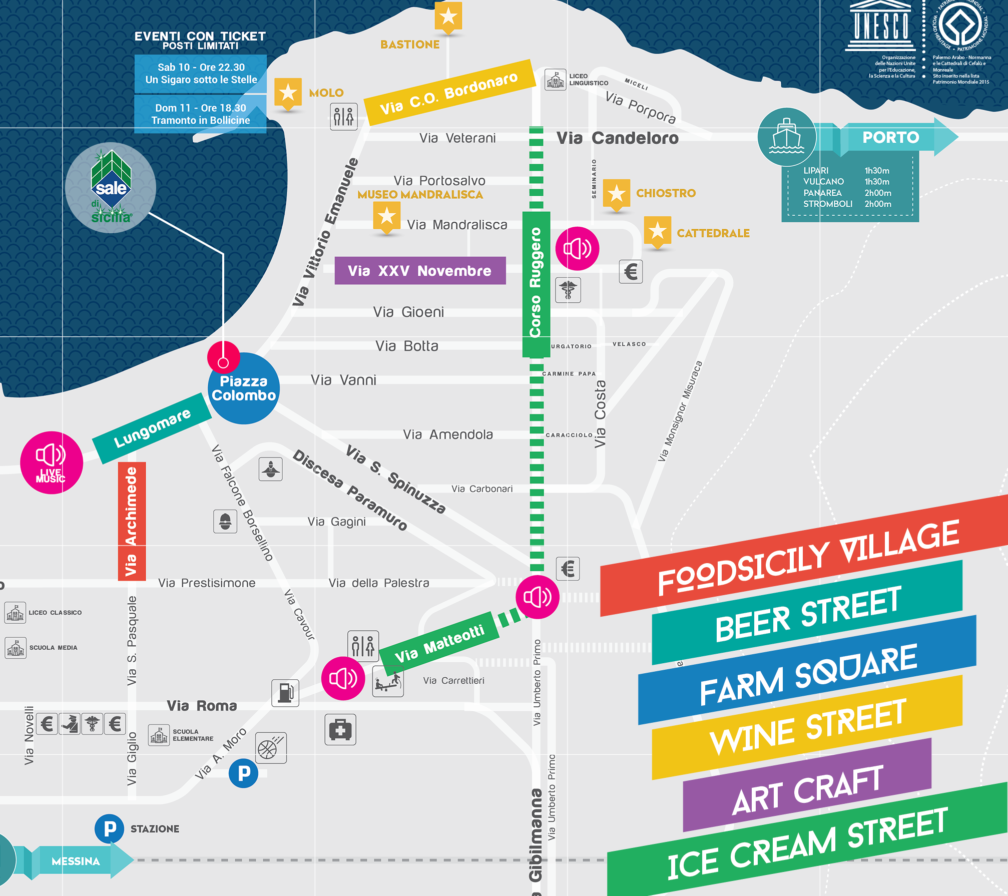 Mappa Cefalù Street Food Festival 2016