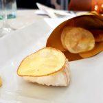 Fish and chips con maionese al rosmarino